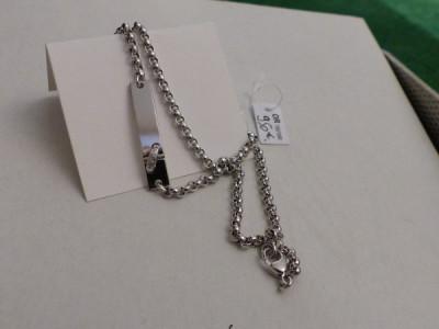 CARTIER: Bracelet 2ors diamants dame. Prix demandé: 5800 euros.